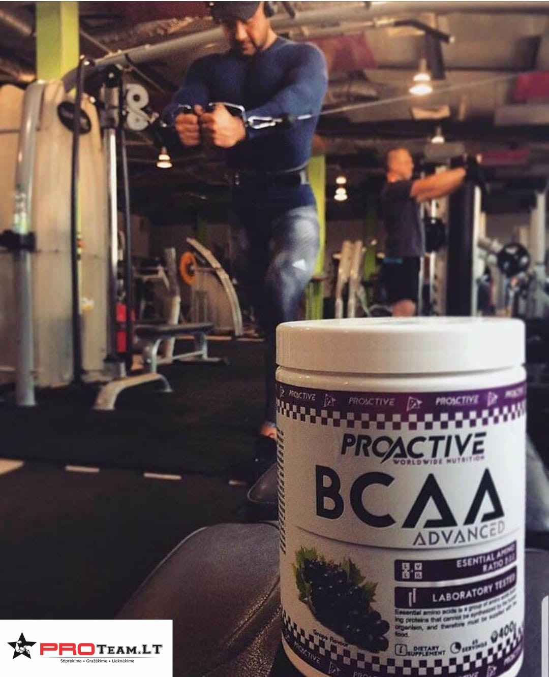 proactive bcaa